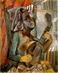 cubismo-2-picasso-mujer-con-mandolina-lyceo-hispanico