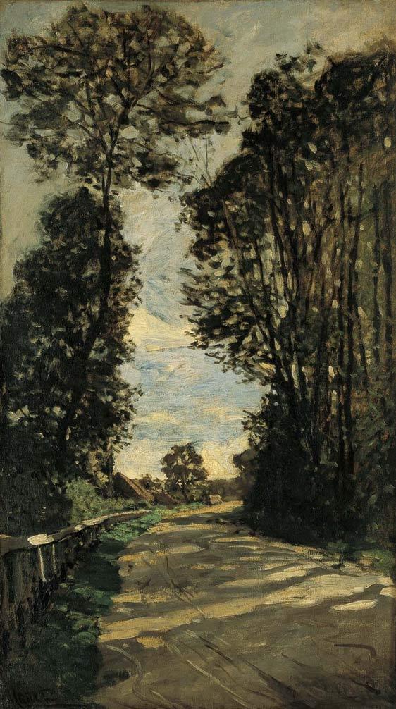 sombra-c-monet-paseo-carretera-de-la-granja-de-saint-simeon-1864