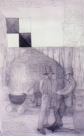 gentes.-OIU.-por William T. Wiley.-1988.-artnet