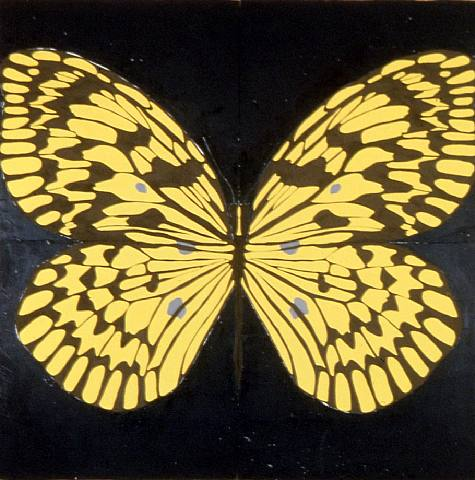 mariposa,.AAA.-por Donald Sultan.-1995.-artnet