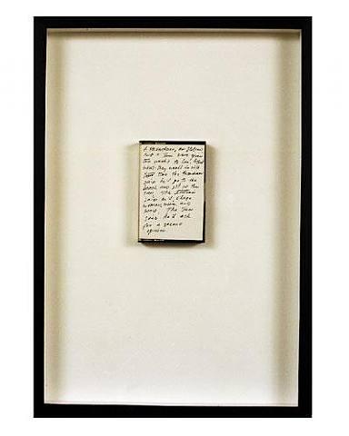 escribir.-55SS.-por Richard Prince.-1986.-Artificial Gallery.-London.-artnet