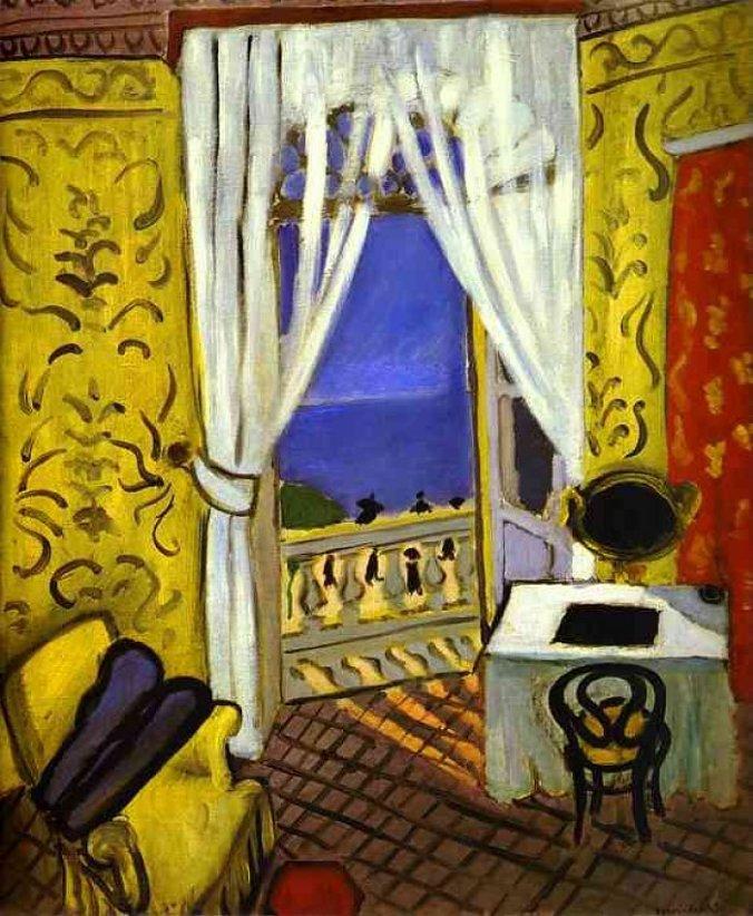 MATISSE.-FRFR.-Interior con violín,.1919.