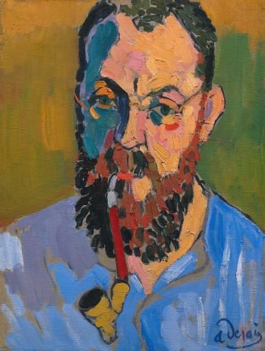 MATISSE.-Retrato de Matisse por André Derain.-1905.-museumsyndicate