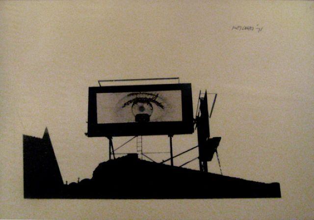 television.-wwwTT.-por Arnold Mesches.-1971.-Robert Berman Galery.-artnet