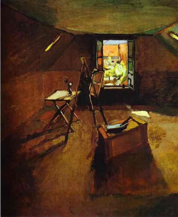 Estudio de pintor.-Matisse.-1903.-Fizwilliam Museum- Cambridge.-Olfga`s Galllery