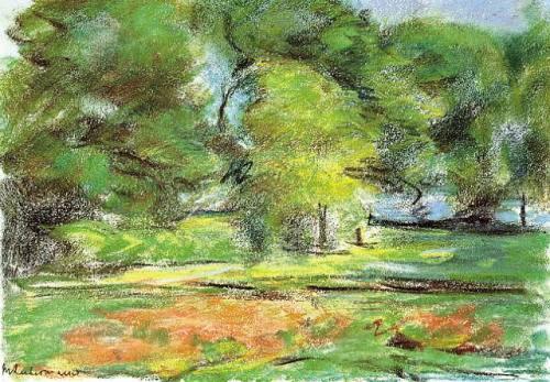 paisajes.-7502.-por Max Liebermann.-1926.-Galerie Ludorff.-artnet