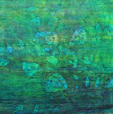 azul.-verde.-1.-por Nagesh Sharma.-India 2008.-Aicon Gallery.-New York.-Palo Alto.-London.-artnet