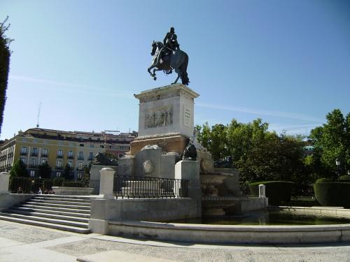 Caaballo de Plaza de Oriente