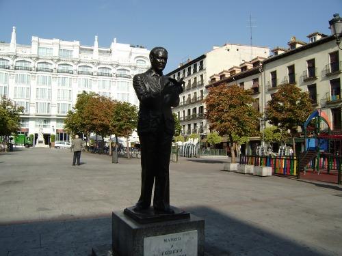 Lorca en la Plaza de Santa Ana