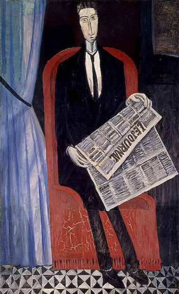 periódicos.-por André Derain.-1914.-Museum Syindicate