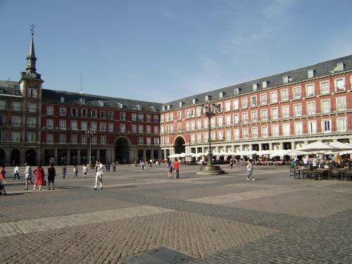 Plaza Mayor.-agosto.-2009