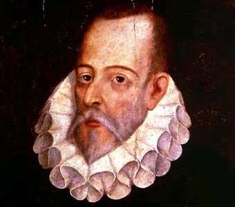 Cervantes.-por Juan de Jauregui.-biografías y vidas