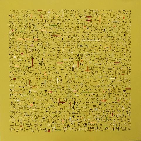 escribir.-2244.-por Lorraine Pritchard.-código de anotaciones.-Craig Scott Gallery.-photografpe.-artnet