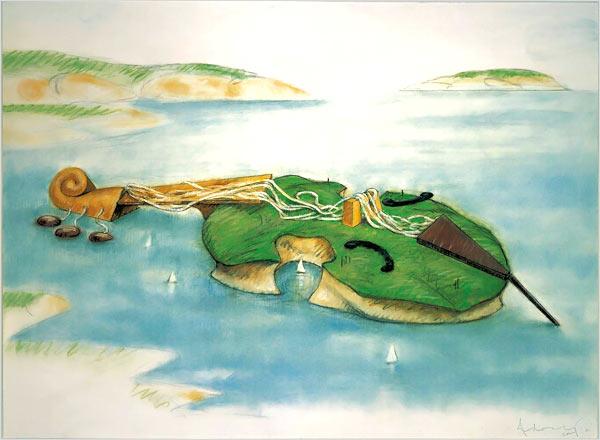 musica.-1166S.-Soft Viola Island.-2001.-foto Sheldan C. Collins.-The New York Times