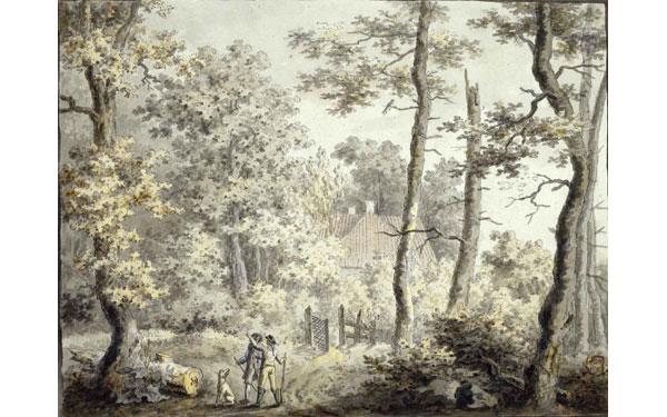 Friedrich.-B.-Casa de campo en ek bosque.-1797.-elcultural.es