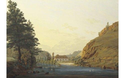 FRIEDRICH.-C.-El Molino Real en el llano de Plauen.-1802-1803.-elcutlural. es