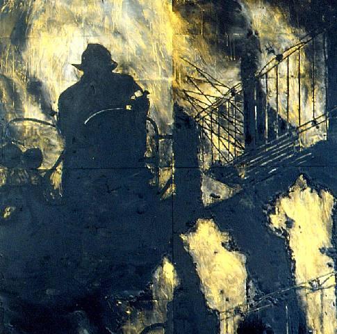 fuego.-BBVSB.-por Donald Sultan.-1986.-artnet