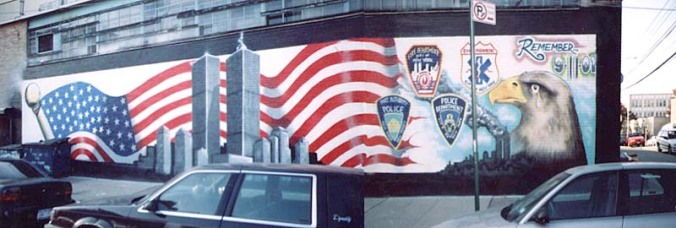 graffiti.-BB.-Art Crimes.-September 11.-Murals.-Remember 9-11-01-by Phymeone Wallmuts Crew 2001.-in L I C.-Queens.-graffiti.org