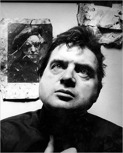 IRVING PENN.-DD.-Francis Bacon.-Londres 1962.-foto Irving Penn.-Conde Nast Publications.-The New York Times