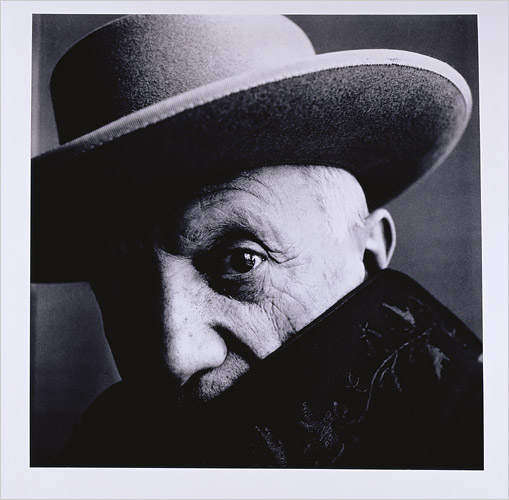 IRVING PENN ZZ.-Picasso -Cannes 1957.-foto Irving Penn.-Morgan Library Museum.- The New York Times