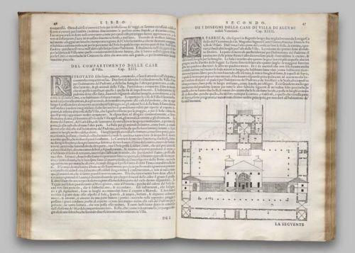 PALLADIO.--nmnm.-Villa Pîsani en los Cuatro Libros de arquitectura.-Wikipedia.-