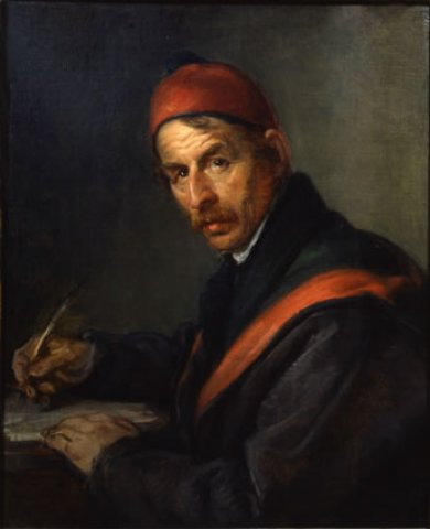 escribir.-22vvb0.-por Giovanni Carnovali .-1840.-Glleria nazionale d´arte moderna