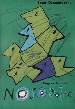 Ionesco.-A.-Rinoceronte.-1.-dibujo e Tomaszewski Henryk.-1961