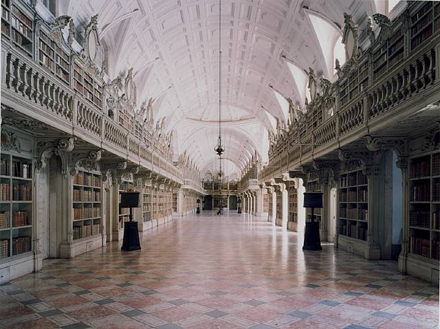 Biblioteca do Palacio e Convento de Mafra, Lisboa