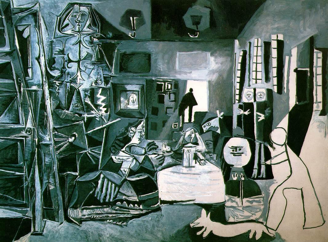 MENINAS.-10-Meninas de Picasso, pintadas el 17-8.57