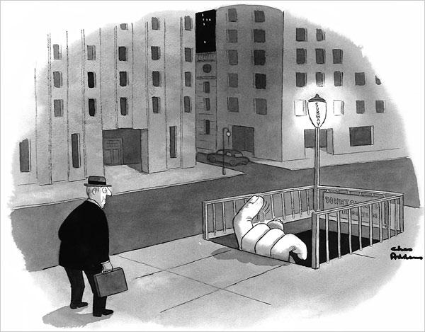 dibujos.-33jjf5.-Nueva York.-Charles Addams.-Museo de la ciudad de ...