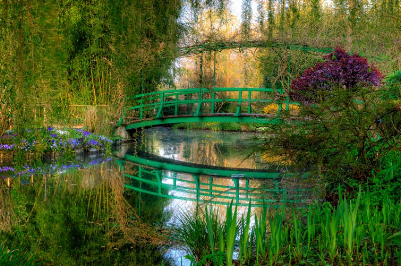 Un paseo con monet por giverny mi siglo for Jardin giverny