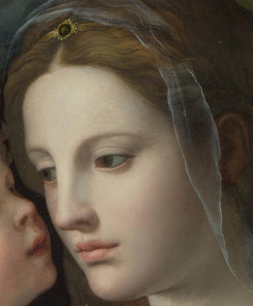 Navidad.-42qa.-La Virgen y el Niño.-1540- Agnolo Bronzino.-National Galllery.-Londres