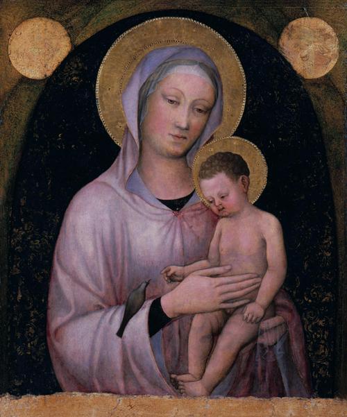 Navidada,.3hhn.-Jacopo Bellini.-Virgen y el Niño.-144.-Academia Carrara
