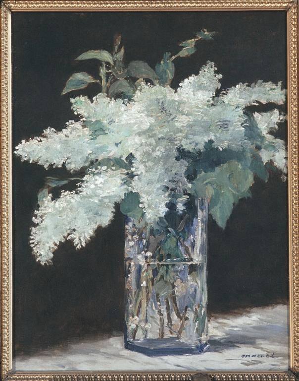 flores.-67v.-lirios blancos.-Edouard Manet.-1882
