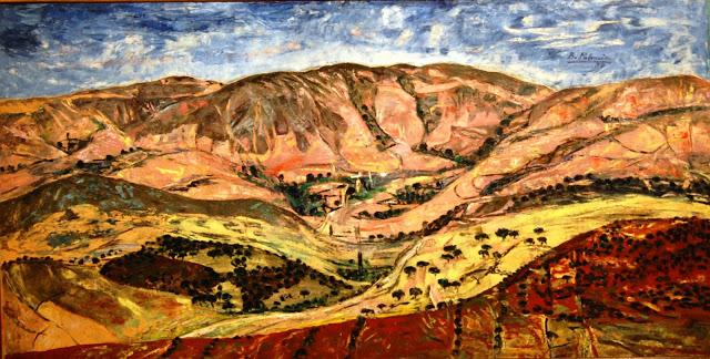 Benjamín Palencia-bbrre-paisaje- mil novecientos cincuenta y uno- Centro de Cooperación Iberoamericana