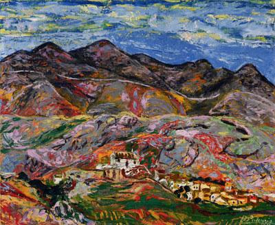 Benjamín Palencia-mmnnu paisaje