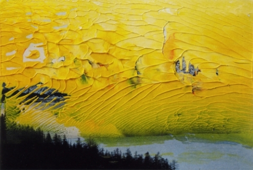 colores.-gerhard richter..-1992.--art overpainted photographs