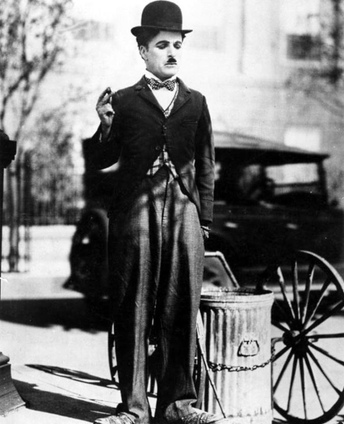 cine.-ii8u.-Chaplin en Luces de la ciudad.-1931
