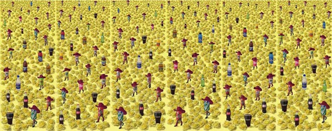 figuras.-5lala.-Sandy Skoglund.-all-art.org