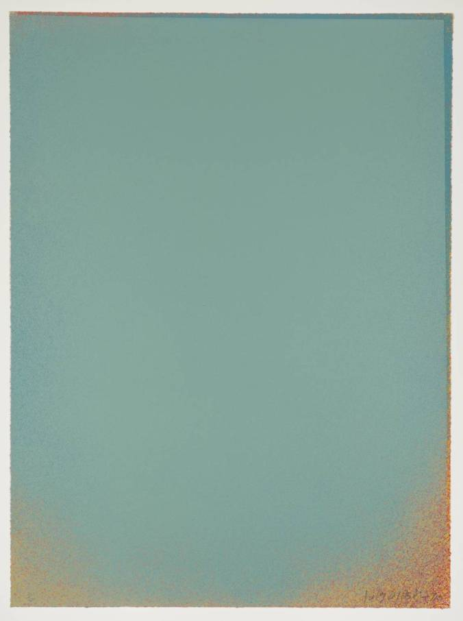 Pale Blue II 1970 by Jules Olitski 1922-2007
