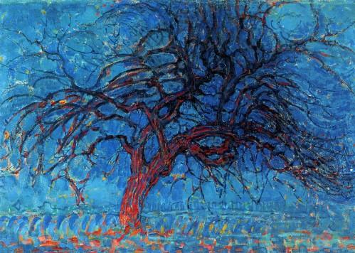 árboles-ignn-Piet Mondrian- mil novecientos diez