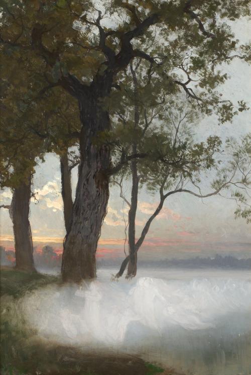 árboles- nnby- nubes- August Malmstrom