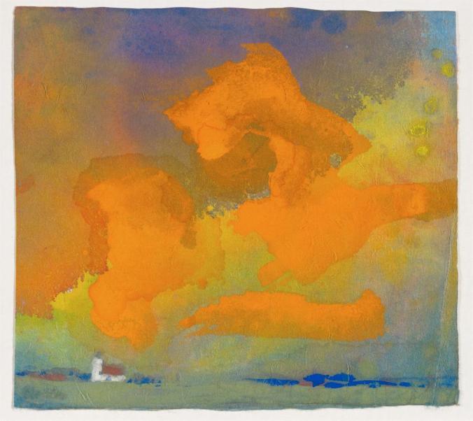 cielos- nhu- Emil Nolde- mil novecientos treinta