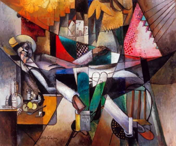 dormir-unnn-sueño- Albert Gleizes- el hombre en la hamaca- mil novecientos trece