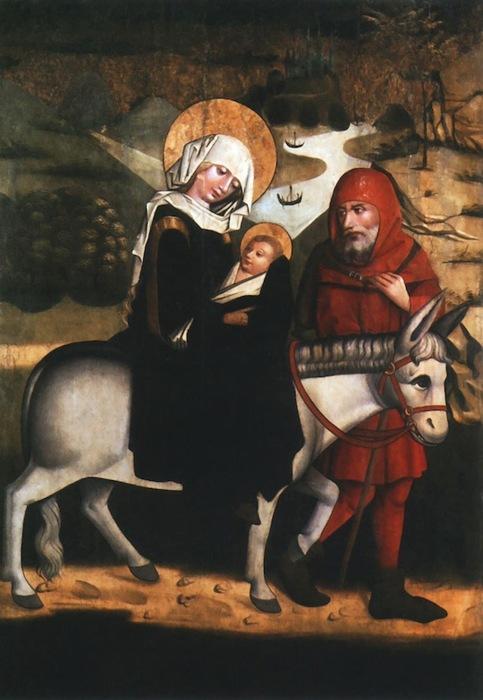 navidad-56hh-la-huida-a-egipto-pintor-desconocido-1460