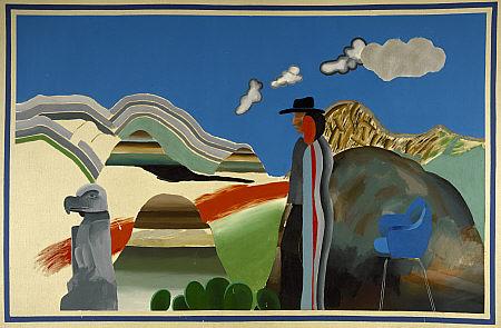 paisajes-44ssw-david-hockney-montanas-rocosas-e-indios-1965-national-galleries-of-scotland