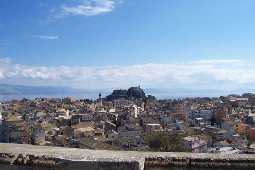 Corfú- nhy- fortaleza vieja y casco antiguo- wikipedia